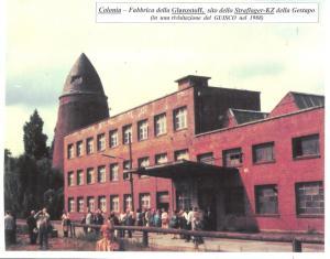 Colonia - la fabbrica dove lavoravano come schiavi gli Internati Militari Italiani
